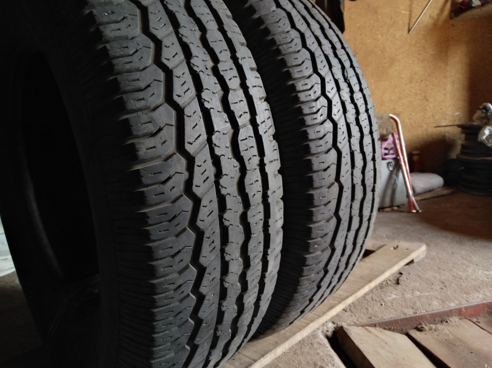 BFGoodrich Radial long trail T/A 225/70R 16