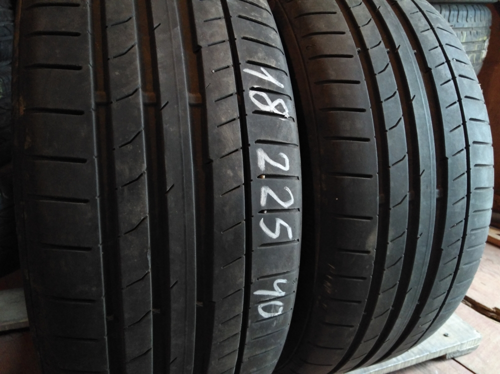 Continental Conti SportContact 5 225/40R 18