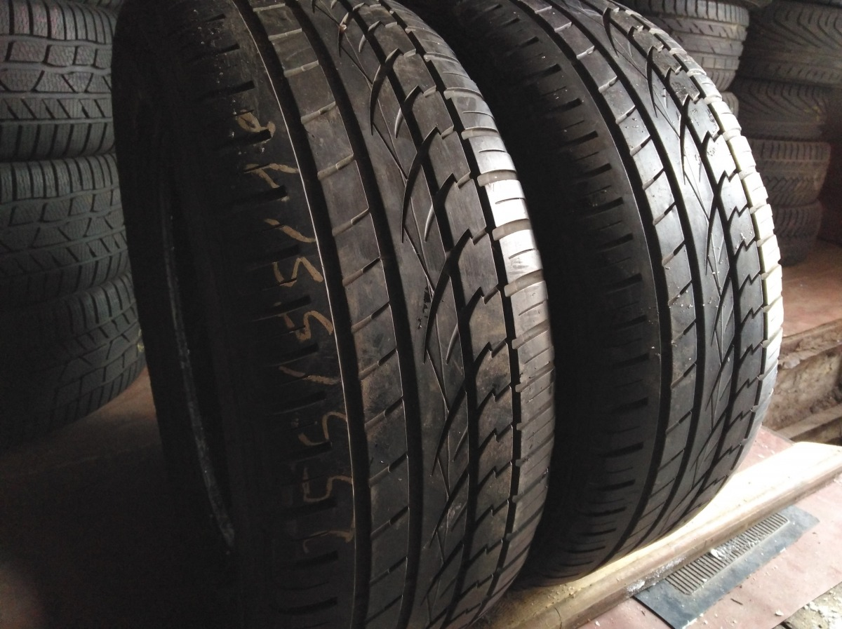 Continental CrossContatc UHP 255/55R 18